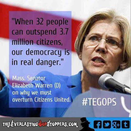 Elizabeth Warren on Citizens United