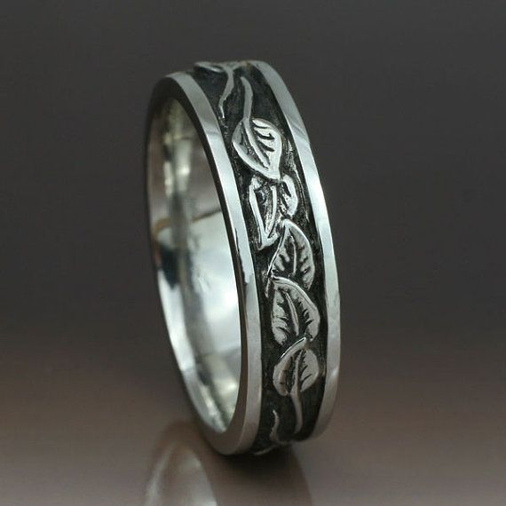 wedding band on pinterest vine wedding ring leaf engagement ring