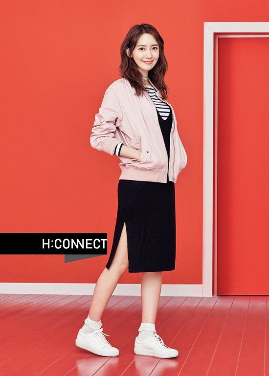YoonA is a fresh spring beauty with 'H:CONNECT' | allkpop.com