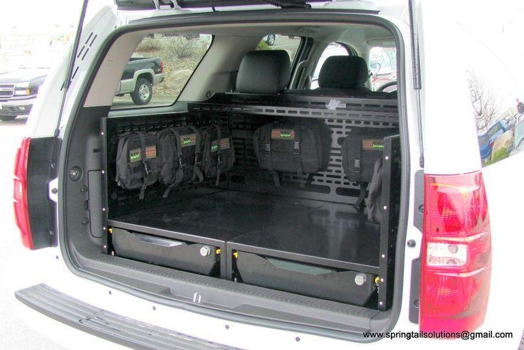 Springtail MPAC Chevrolet Tahoe Cargo Drawer Storage Organizer GMC