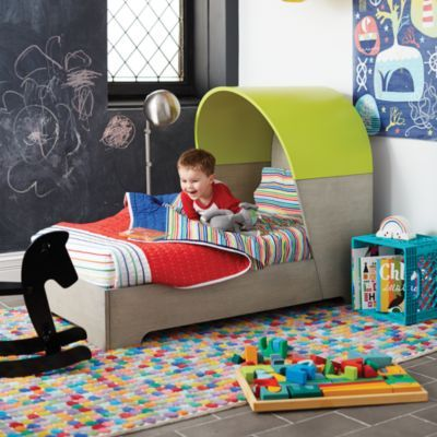 Nook Modern Toddler Bed (Neon) | The Land of Nod