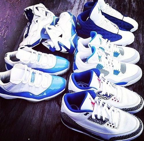 Blue Jordans need and htc one to match!