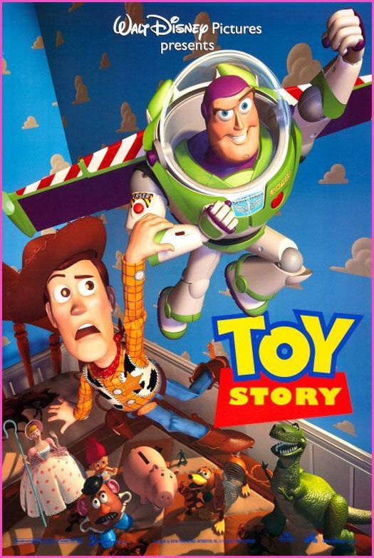 Toy Story!  I wonder how many baby boys were named Buzz or Woody nine months after this movie came out?  One of the best!