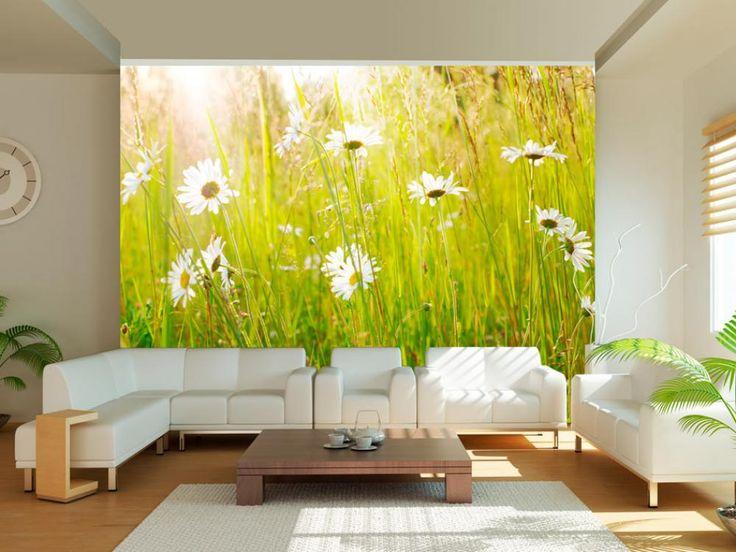 Primavera en el calendario y detrás de la ventana - llego el tiempo para primavera en fotomurales #fotomurales #wallpapers #fotomural #primavera #flores #decoraciones #pared #arreglo #home #decor