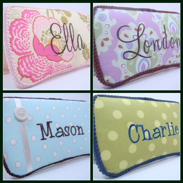 Personalized Diaper Wipes Case - Baby Girl Diaper Wipes Case -  Baby Boy Diaper Wipe Case - Choose Your Fabric - Baby Shower Gift. $15.95, via Etsy.