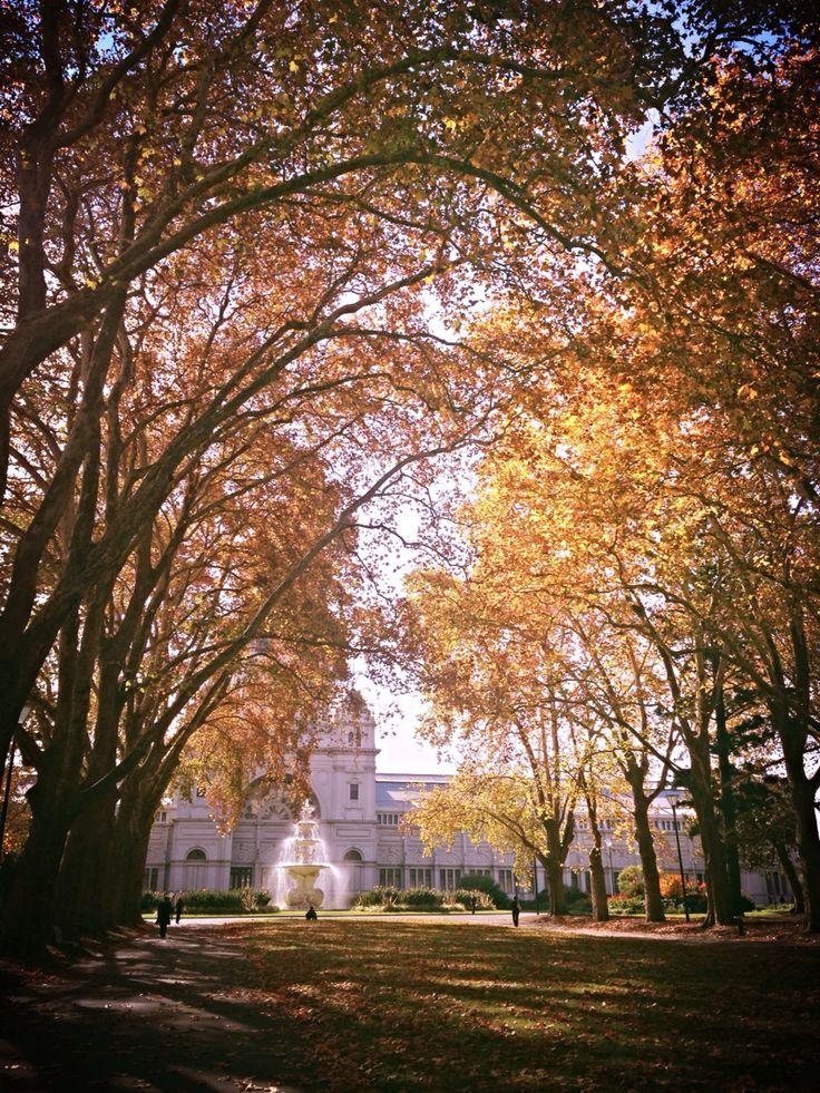 Melbourne in Autumn