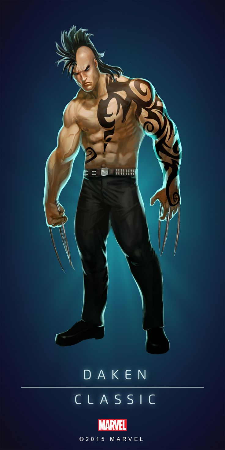 #Daken #Fan #Art. (DAKEN - CLASSIC IN: MARVEL'S PUZZLE QUEST!) BY: AMADEUS CHO! (THE * 5 * STÅR * ÅWARD * OF: * AW YEAH, IT'S MAJOR ÅWESOMENESS!!!™) [THANK U 4 PINNING!!!<·><]<©>ÅÅÅ+(OB4E)(IT'S THE MOST ADDICTING GAME ON THE PLANET, YOU HAVE BEEN WARNED!!!)