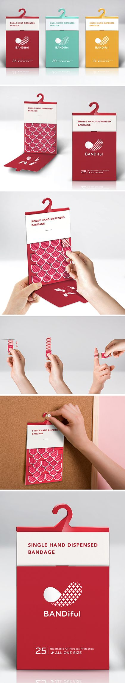 Bandiful is so innovative and one of the top 10 #2013 #PPOTD #packaging pins #toppins PD