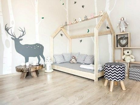 Baby/Toddler/Twin/Queen Amazing House Bed Montessori Style