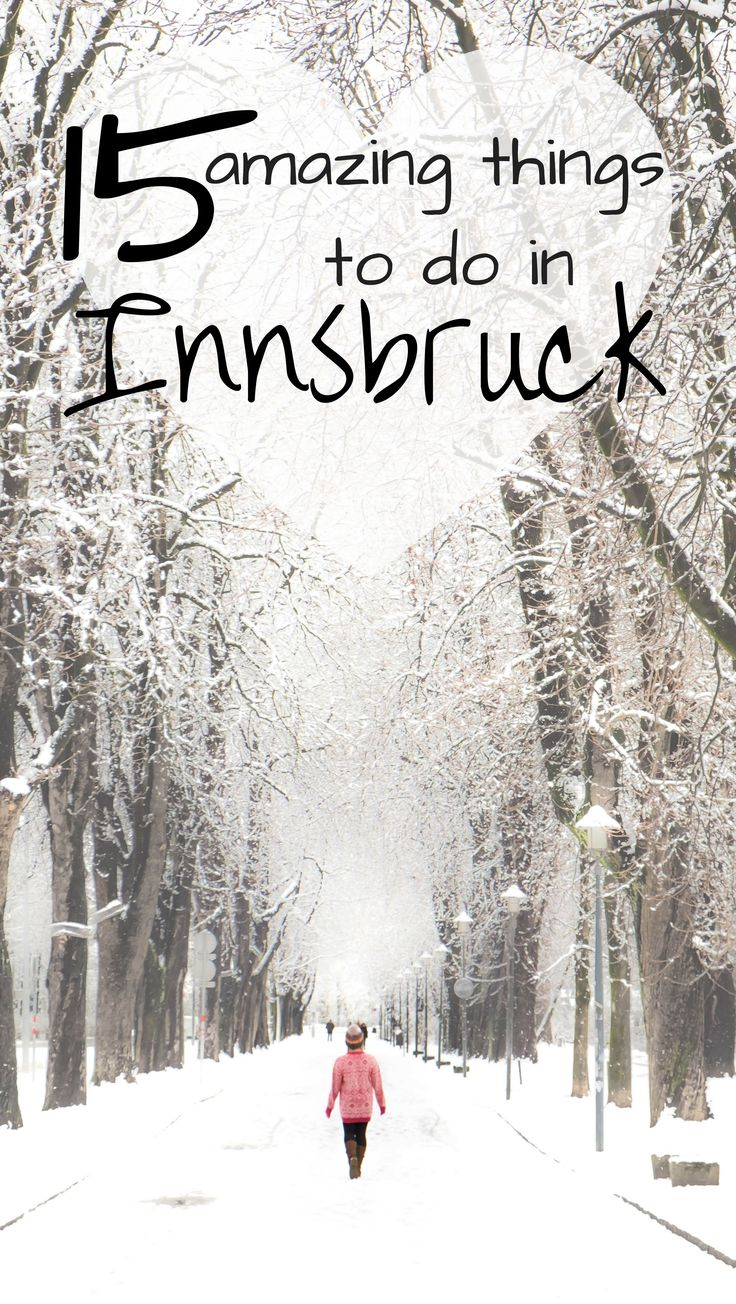 The ultimate list of things to do in Innsbruck, Austria. Including Winter and summer options, skiing, hiking, christmas time, Nordkette, the old town, the golden roof. All the travel tips are here!