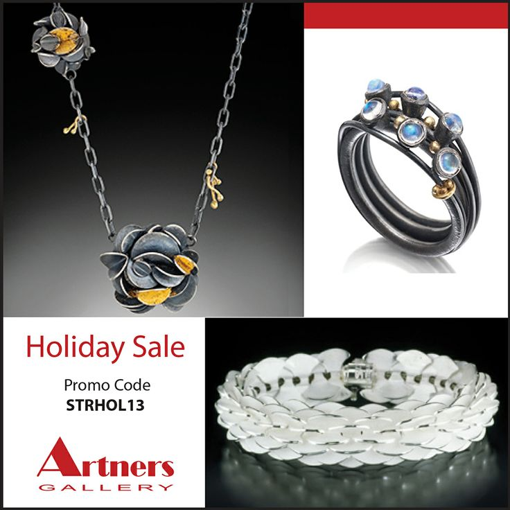 Its our last STOREWIDE SALE of the year, December 6-8 only. Order early because each item is handcrafted which may take longer. All iems are 10% OFF! Promo cord - STRHOL13 www.artnersgallery
