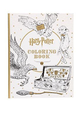 <p>Unleash your creativity and escape to one of the most beloved series of all time.</p>  <p>Packed with stunning pieces of artwork from the Warner Bros. archive, this deluxe coloring book gives fans the chance to color in the vivid settings and beloved characters of J.K. Rowling's wizarding world. Containing intricate line drawings used in the making of the <i>Harry Potter</i> films, this coloring book includes fan-favorite scenes, creatures, and characters: from Dobby and baby ...