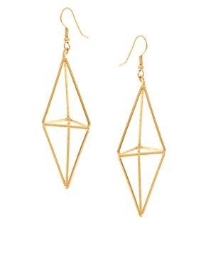 ASOS Gogo Philip Diamond Drop Earrings