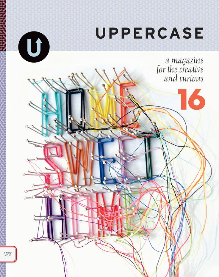 UPPERCASE - a magazine for the creative and the curious
