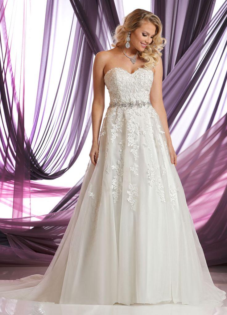 DaVinci Wedding Dresses Style #50390