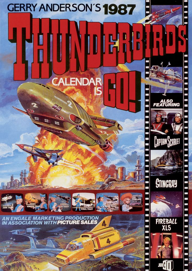 Everyone loved Thunderbirds as a kid, anyone else saved the loo rolls up to make Blue Peters Tracy Island? Thunderbirds calendar is go!