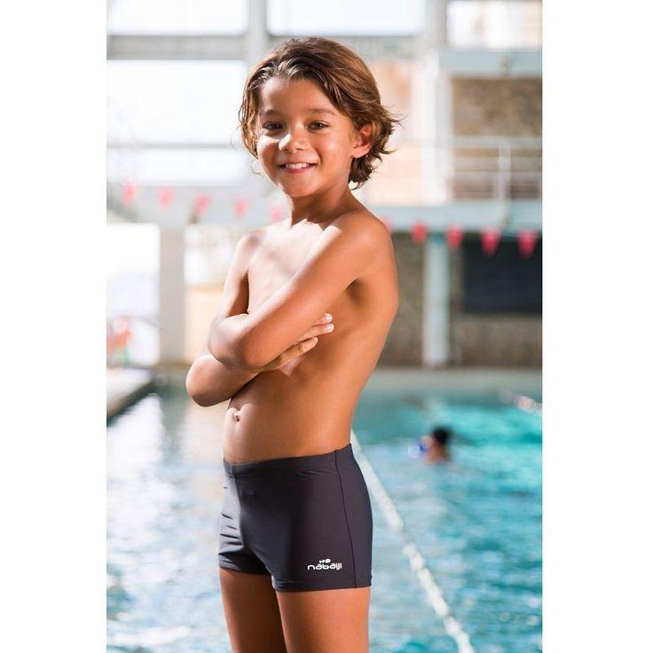 Chlapecké plavecké boxerky Tony šedé