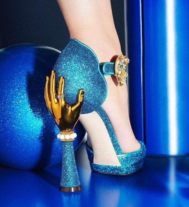 These sparkle shoes | Chaussures folles, Chaussure