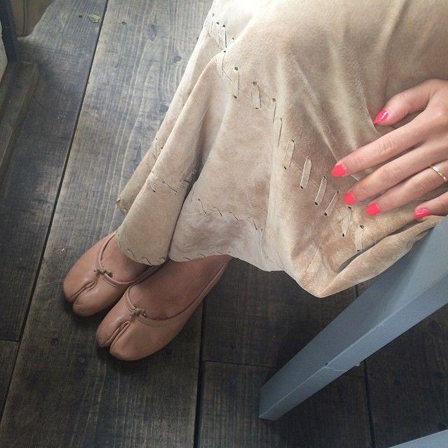 まるじぇらの欲しい靴かれんが履いてた…かわいい。。❤︎