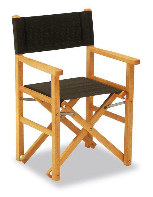 Sedia Regista in legno