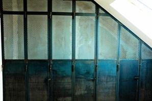 fabrication de verrière en metal type atelier