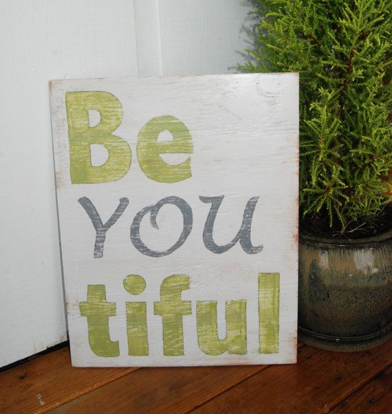 Happiness Is Homemade Handpainted Sign Handmade 12x12 Wall: 88 Best Be You-tiful Images On Pinterest