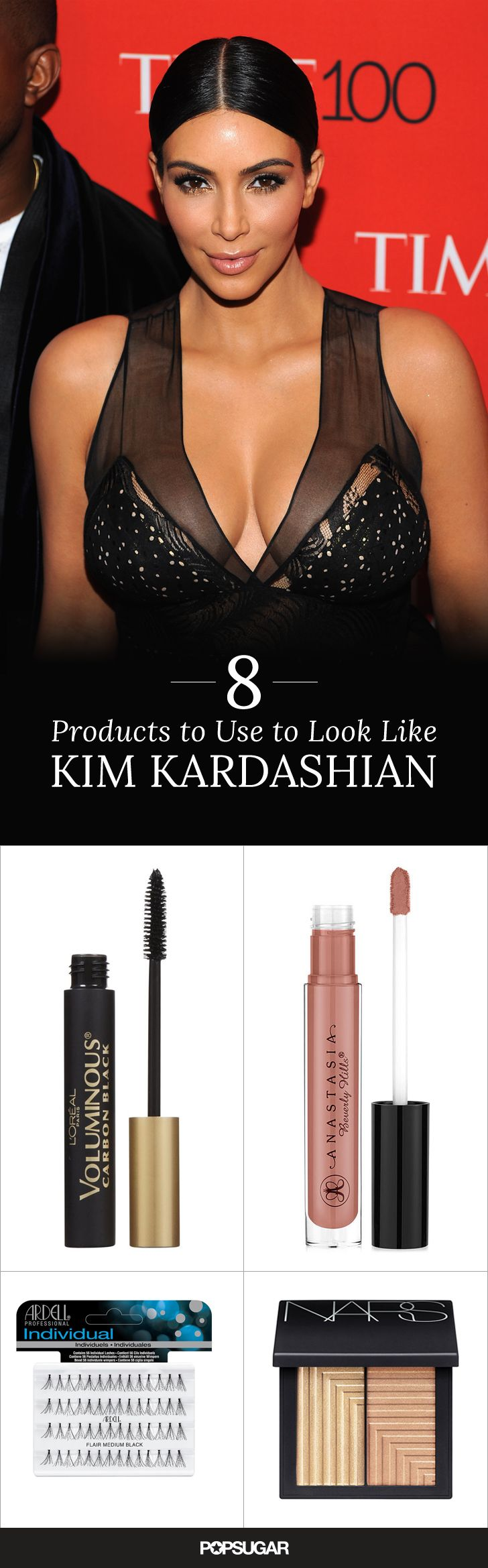 Want to look just like Kim Kardashian? Use this guide to discover the same makeup products that she uses!