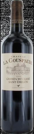 Château La Couspaude Grand Cru Classé de Saint-Emilion rouge 2006 - Saint-Émilion Grand Cru