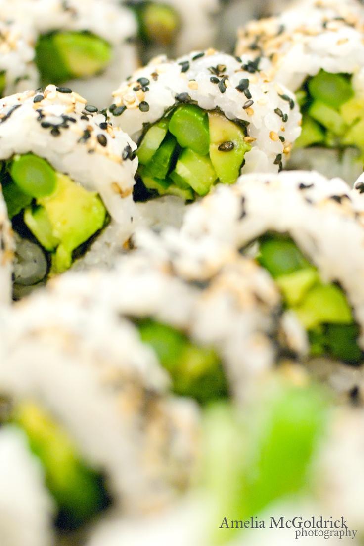 Veggie Maki Sushi