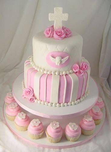 Tortas Para Primera Comunión De Niña   No hay celebración que se pueda realizar con una buena torta para poder compartir con todos aquellos invitados especiales, además para recordar y ...