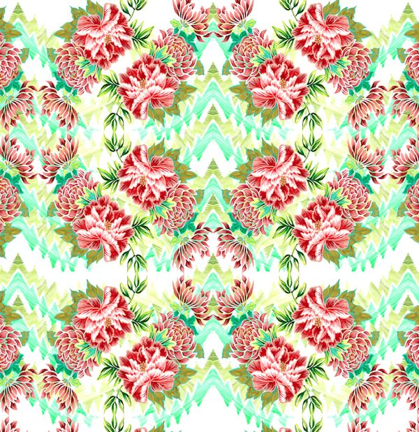 SS 15 Prints by natalia gemma, via Behance