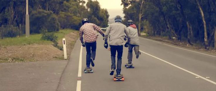 ► The Downhill Delight skate crew from South Australia are osmotized into the…