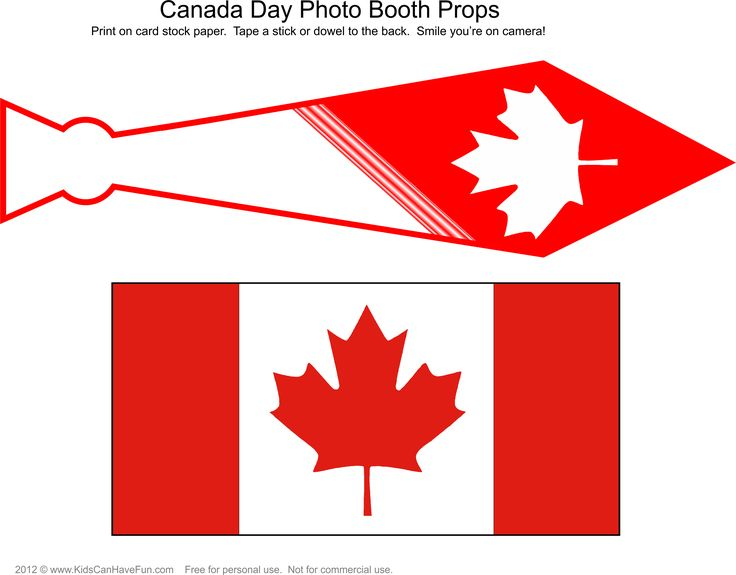 Free DIY Canada Day Photo Booth Props Page 3  http://www.kidscanhavefun.com/photo-booth-props.htm