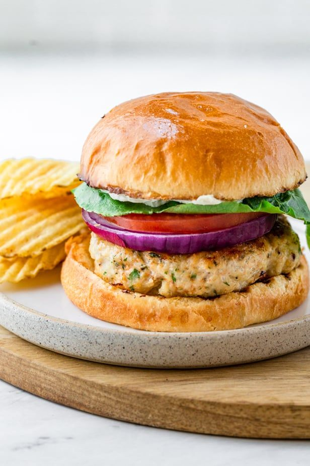 Ground Chicken Burgers No Eggs Feelgoodfoodie Recipe Ground Chicken Burgers Chicken Burger Recipe Healthy Chicken Burgers