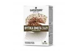 """Εικόνα του """"Superfoods Omega Φυτικά Ωμέγα 3 6 9, 30 caps"""""""