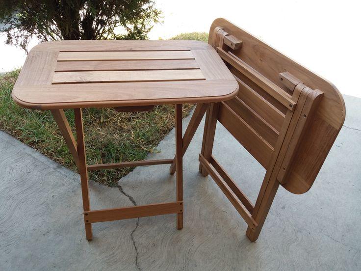 Las 25 mejores ideas sobre mesas plegables de madera en for Muebles jardin plegables