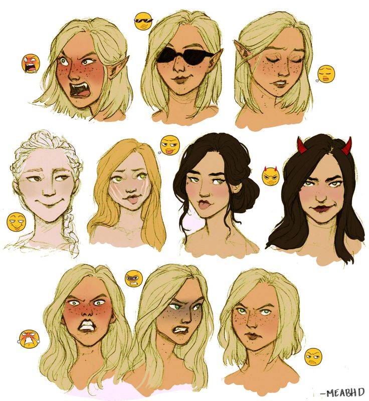 Emoji Challenge: Throne of Glass [by meabhd]