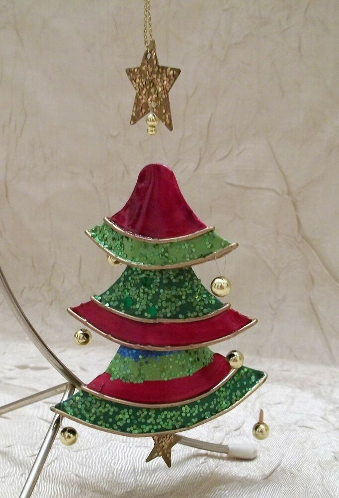 Three Tier Christmas Tree Ornament Holiday Ebay In 2020 Christmas Tree Ornaments Christmas Tree Tree Ornaments