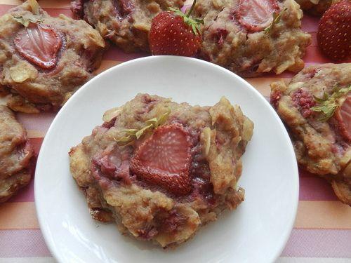 galettes fraises et amandes