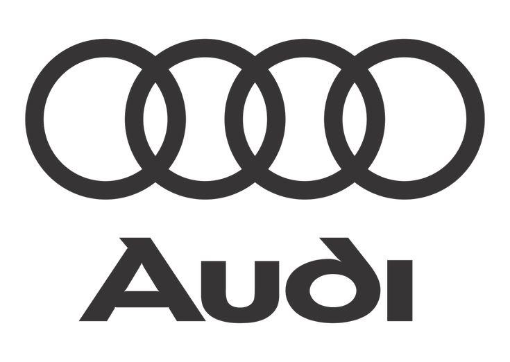 Audi Logo Vector Black White Vector Logo Download
