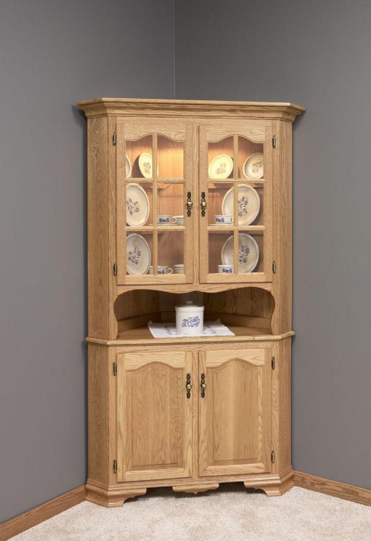 Corner cabinet for dining