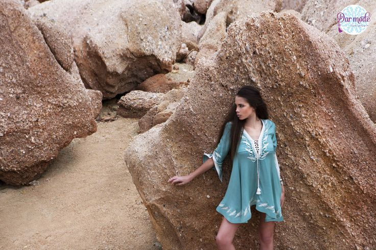 Tunic Leila・Salt in the air Sand in my hair lookbook