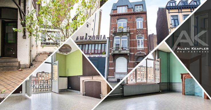À voir absolument ! Immeuble de rapport à vendre dans le centre de Liège. (4 appartements et un studio)