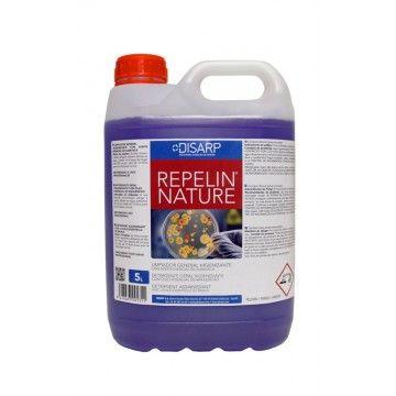 REPELIN NATURE- Limpiador General Higienizante con Aceite Esencial de Albahaca.   Detergente con propiedades higienizantes agradablemente perfumado. Formulación con amonios cuaternarios que garantizan la higiene y desodorización y aceite esencial de albahaca de elevada persistencia que proporcionan una barrera natural contra los insectos. http://www.ilvo.es/10673-repelin-nature-limpiador-general-higienizante-con-aceite-esencial-de-albahaca.html