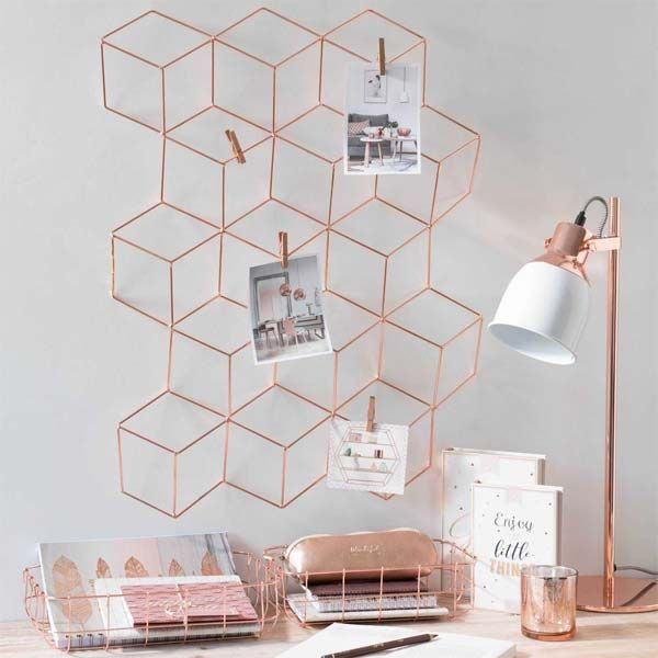 15 best ideas about rose gold room decor on pinterest for Deco maison rose gold
