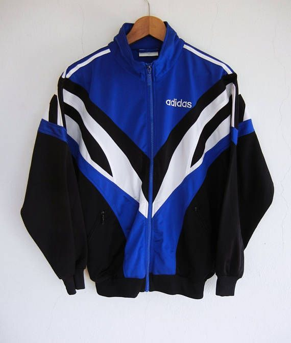 5faa3aaad8 Adidas Vintage 90s Adidas 3 stripes Retro Track Top Warm Up ...