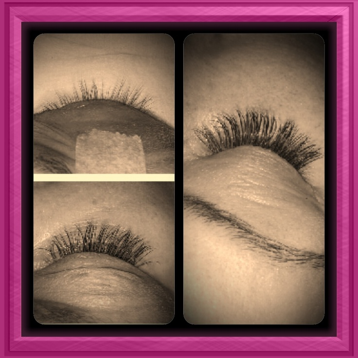 Lashes b4...during...and after extensions!!! 9314 1220x