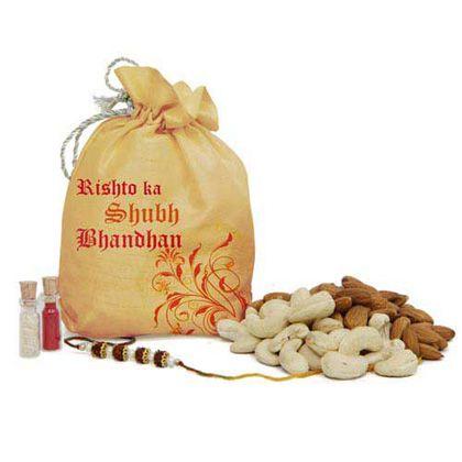 Rakhi Dry fruit Gift International - Rakhi To Dubai