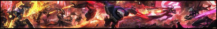ArtStation - Project team fight-League of legends, Suke ∷