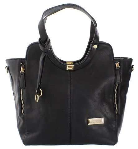 Blackcherry Black Two Panelled Tote Bag R375 Blackcherry 2 Panelled Tote Bag in Black What better way to complete your look than with a glam bag! This trendy Blackcherry Black Two Panelled Tote Bag is perfect for ladies who are all about looking stylish... A bag you can use to add spark to every outfit.